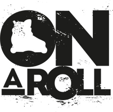 On a Roll - Logo (Black)